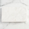 White Marble Thick Rectangular Board with Handle Grooves_Be Home_Housewares