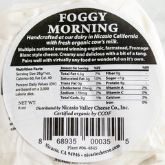 Foggy Morning Cheese_Nicasio Valley Cheese Company_Cheese