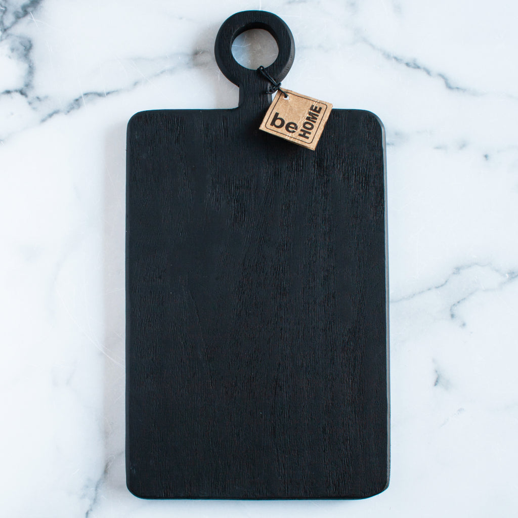Black Mango Wood Rectangular Mini Board