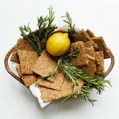Rosemary & Lemon Knekkebrod Crackers
