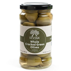 Cracked Green Olives - igourmet