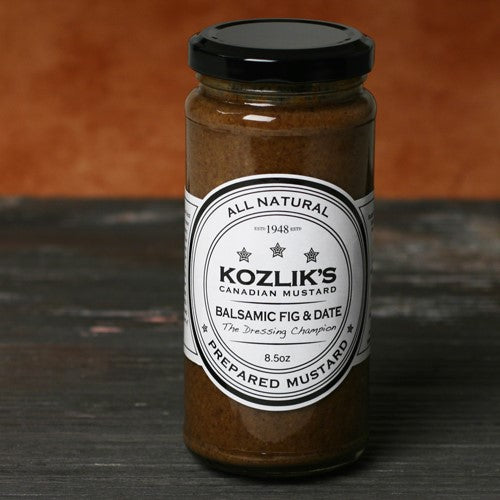 Balsamic Mustard with Figs and Dates