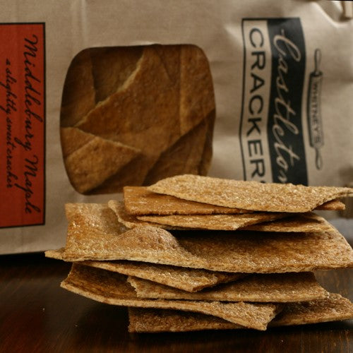 Salted Maple Crackers