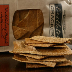 Salted Maple Crackers - igourmet