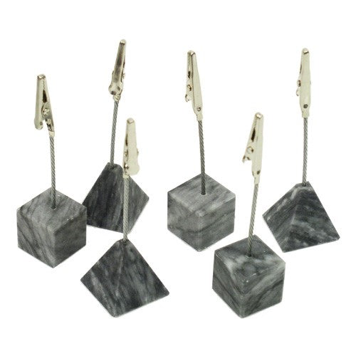 Marble Recipe Clips - Set of 12