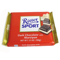 Sport Dark Chocolate with Marzipan - igourmet