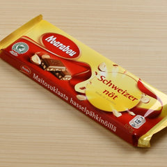 Swedish Milk Chocolate Bar with Hazelnuts - igourmet