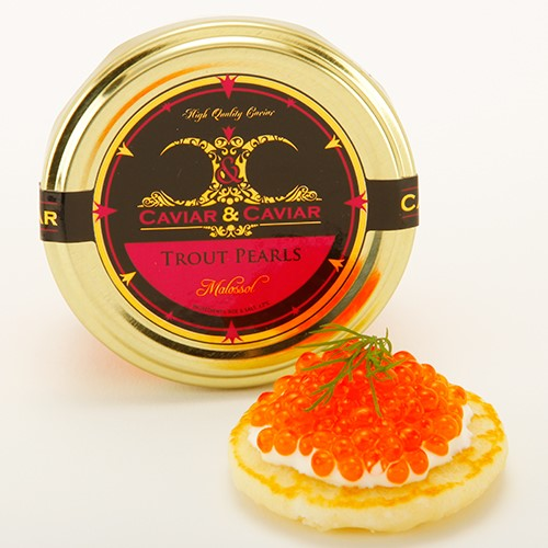 Pink Trout Roe Caviar