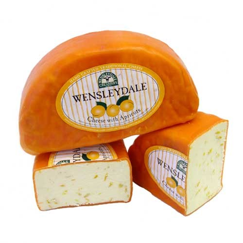 Wensleydale Cheese with Apricots
