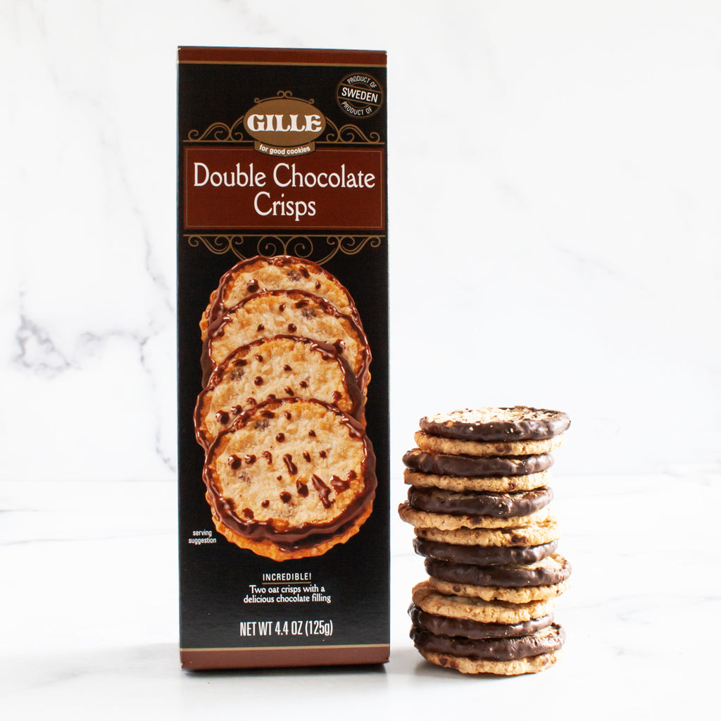 Swedish Double Chocolate Crisps