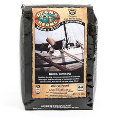 Organic Moka Sumatra Whole Bean Coffee - igourmet