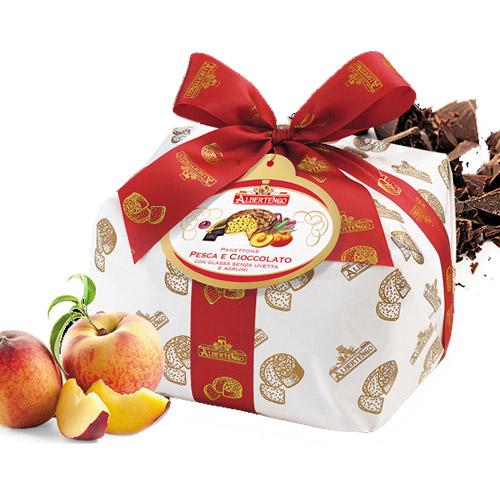 Peaches & Chocolate Panettone