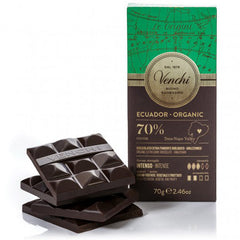 Organic Ecuador 70% Dark Chocolate Bar - igourmet