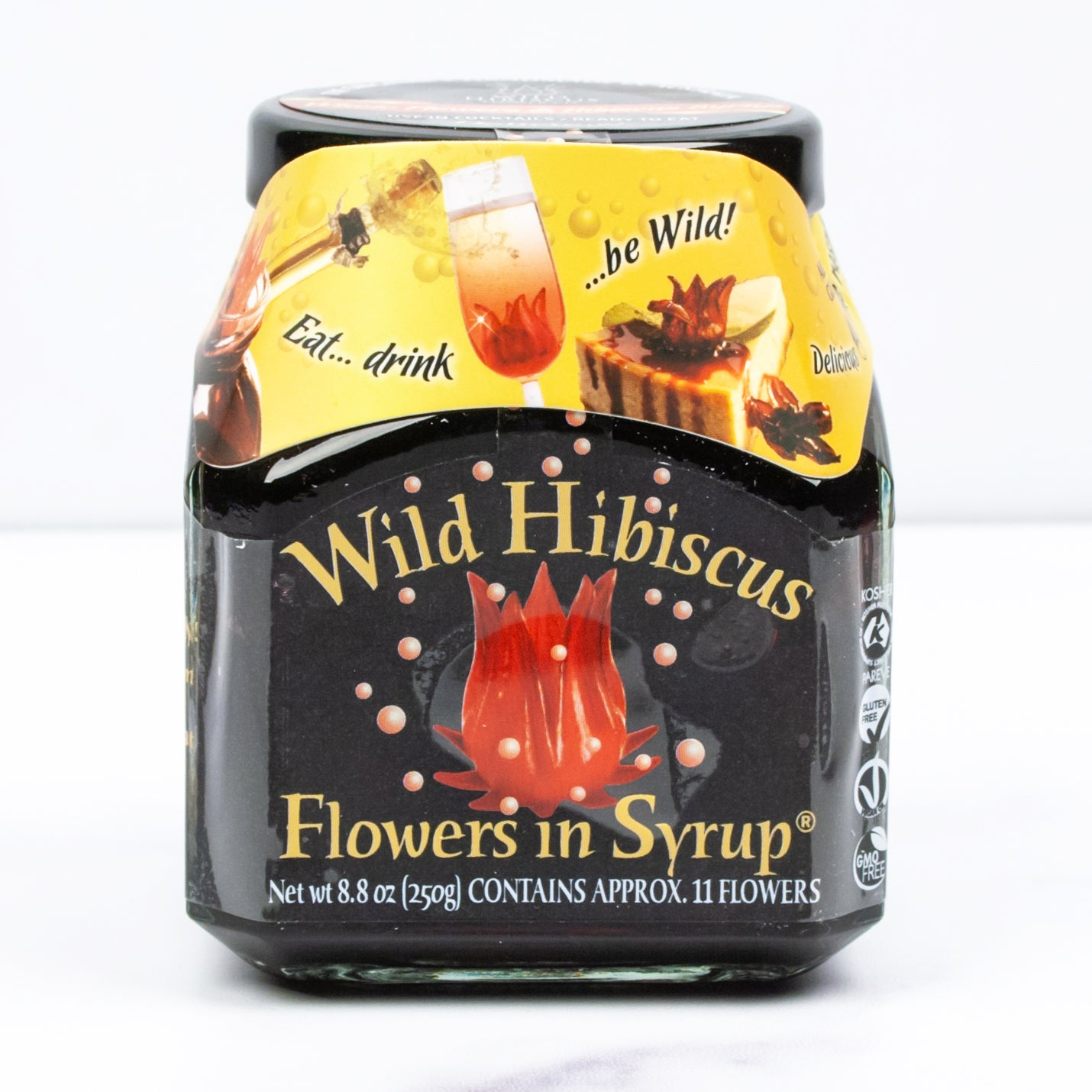 Flowers in Syrup