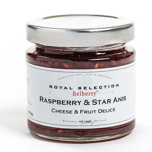 Raspberry and Star Anise Compote