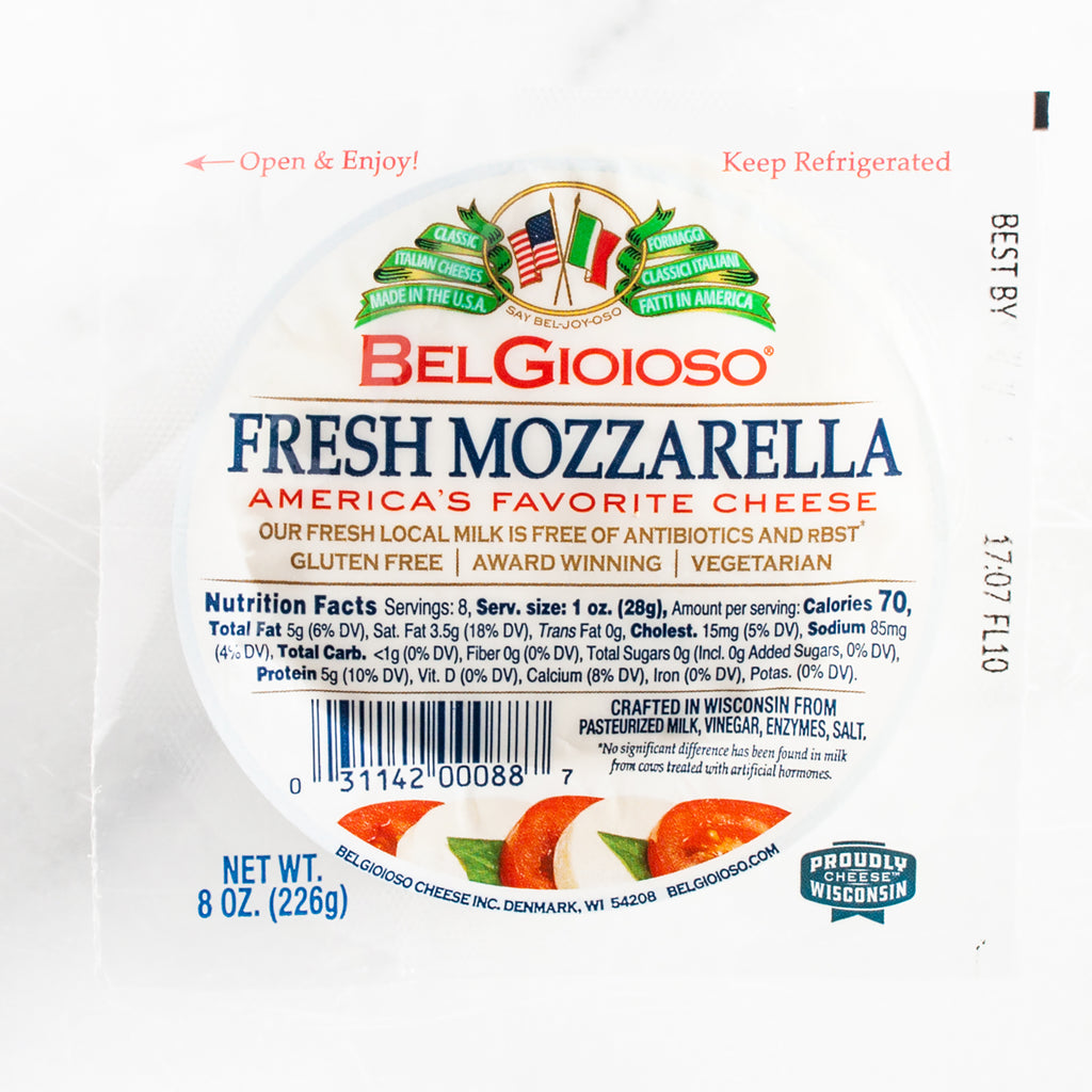 Fresh Mozzarella Cheese Ball