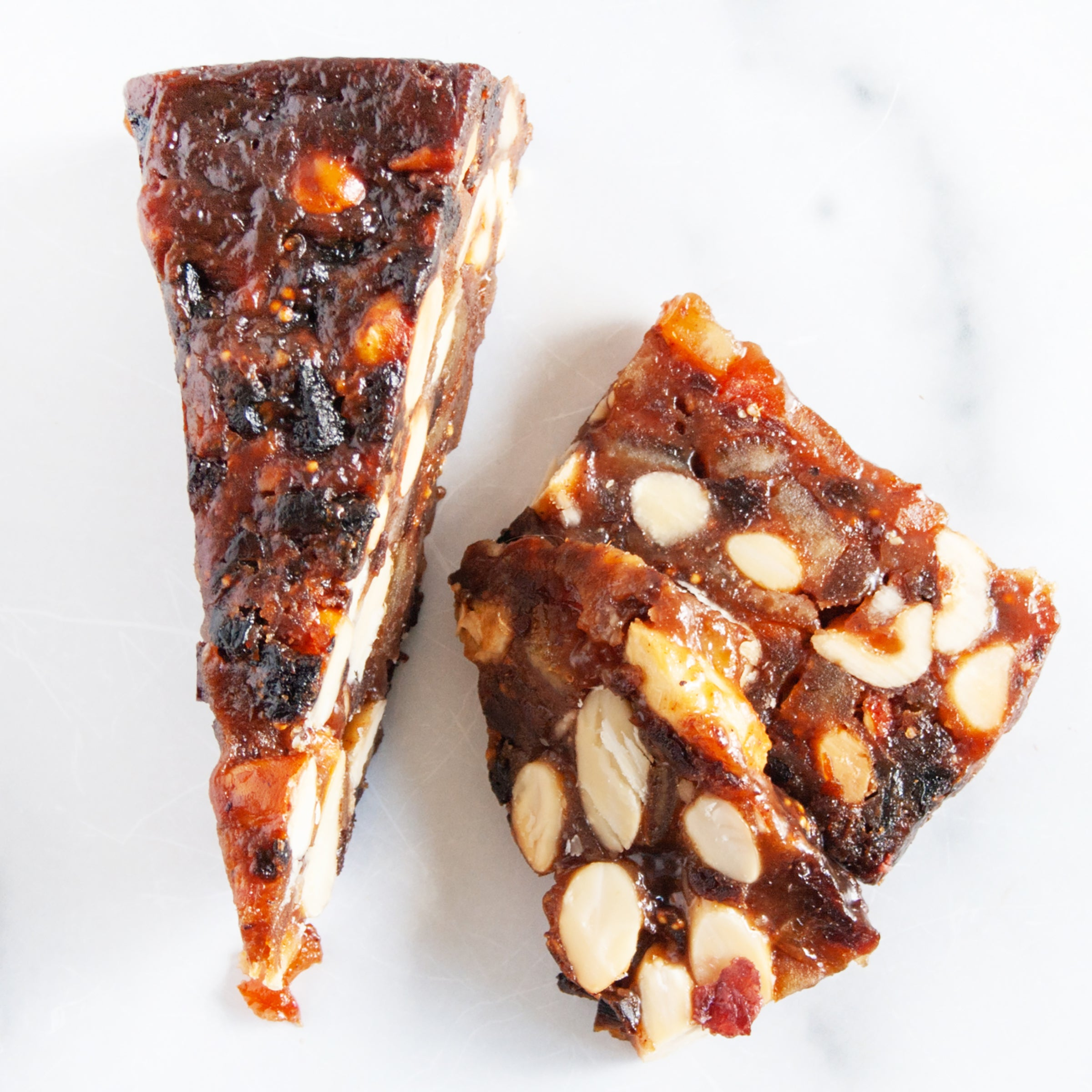 Panforte Fruit and Nut Torte Wedge_Savory Spoon_Dried Fruits, Nuts & Seeds