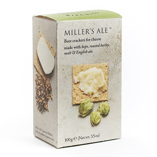 Miller's Beer Crackers for Cheese