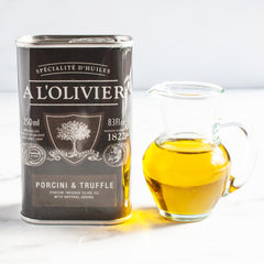 Porcini and Truffle Infusion_A l'Olivier_Extra Virgin Olive Oils