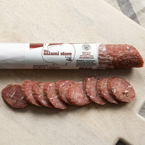 Uncured Turkey Salami