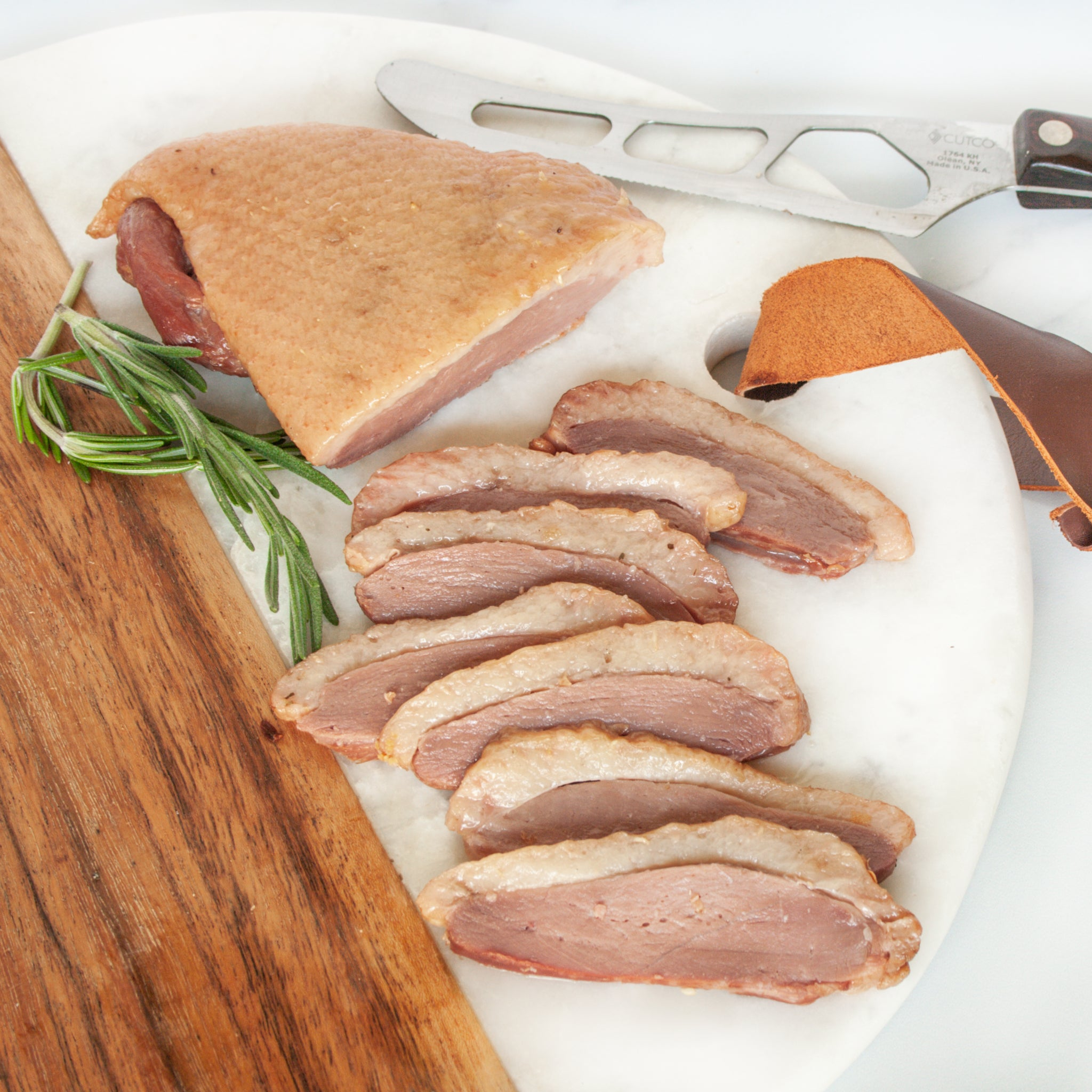 Smoked Magret Duck Breast - igourmet