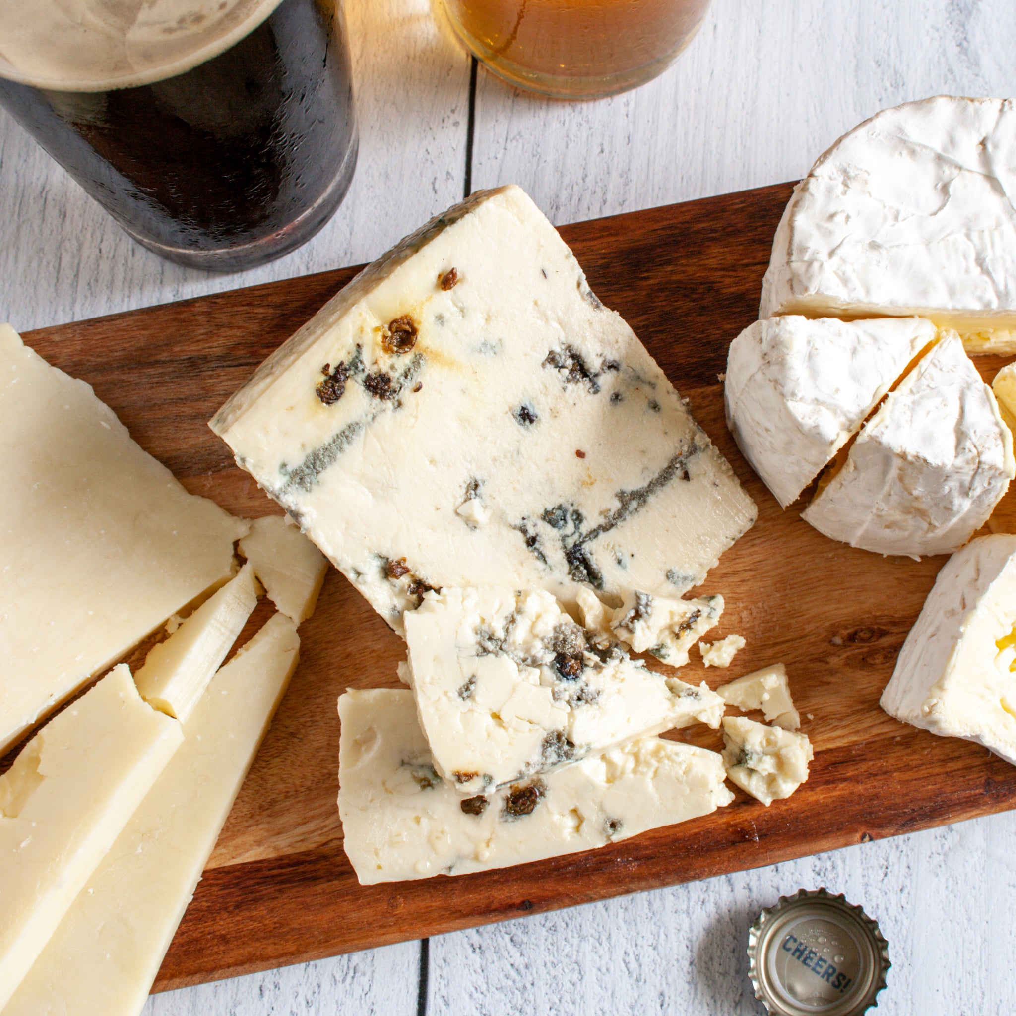 Deer Creek Blue Jay Quintuple Creme Blue Cheese