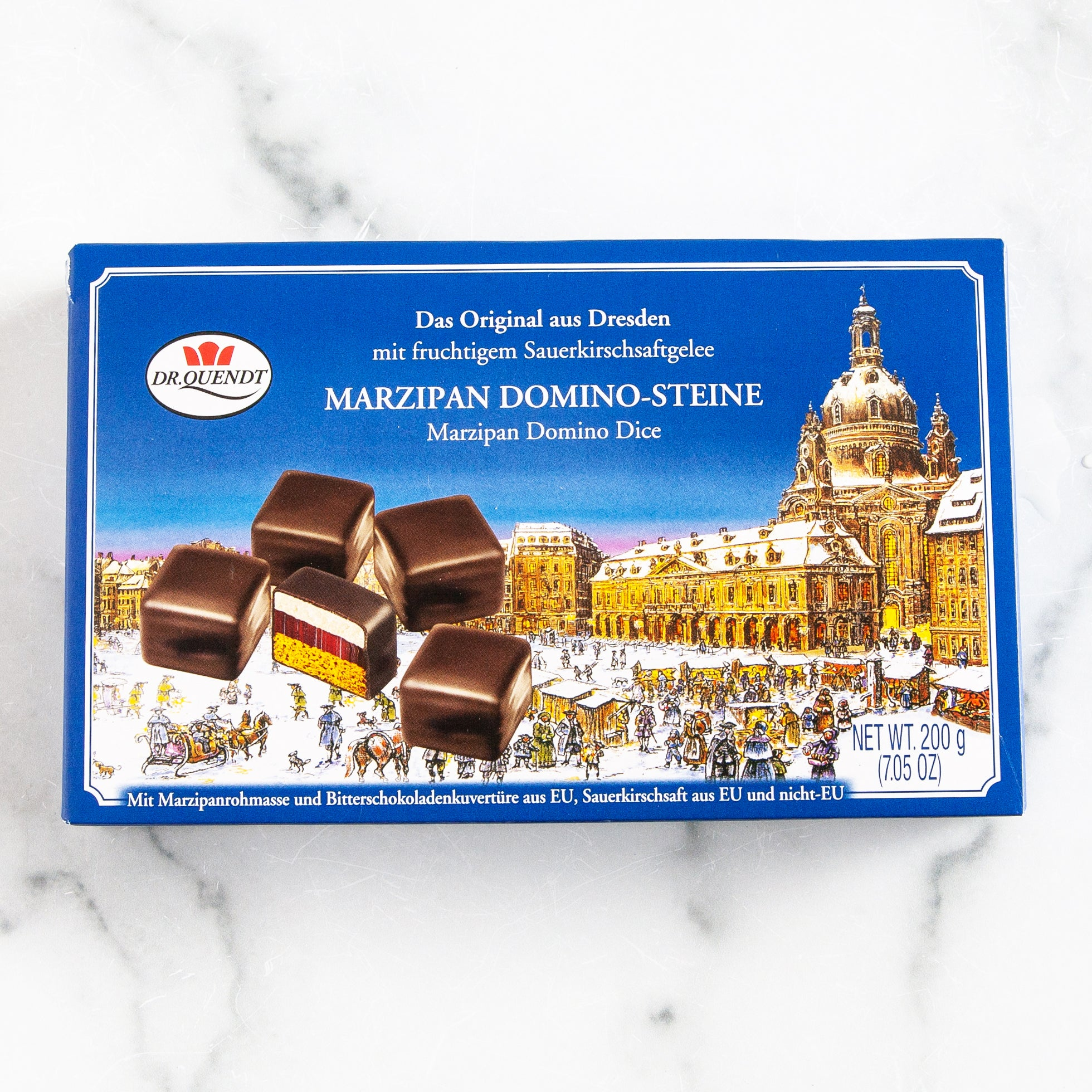 Dresden Marzipan Domino Dices DR. QUENDT