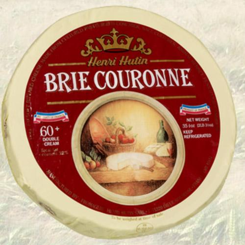 French Brie Cheese Couronne Double Cream