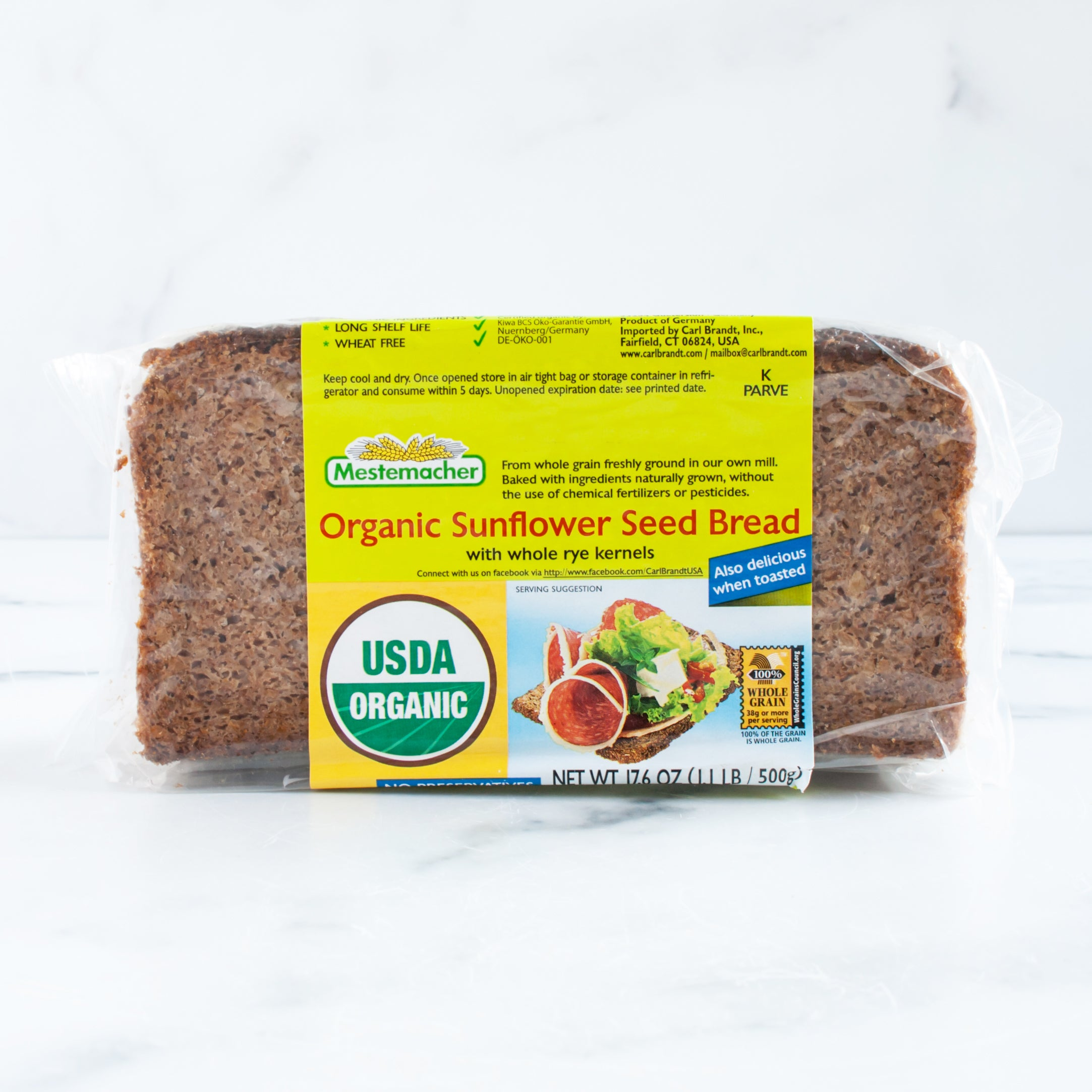 Organic German Bread