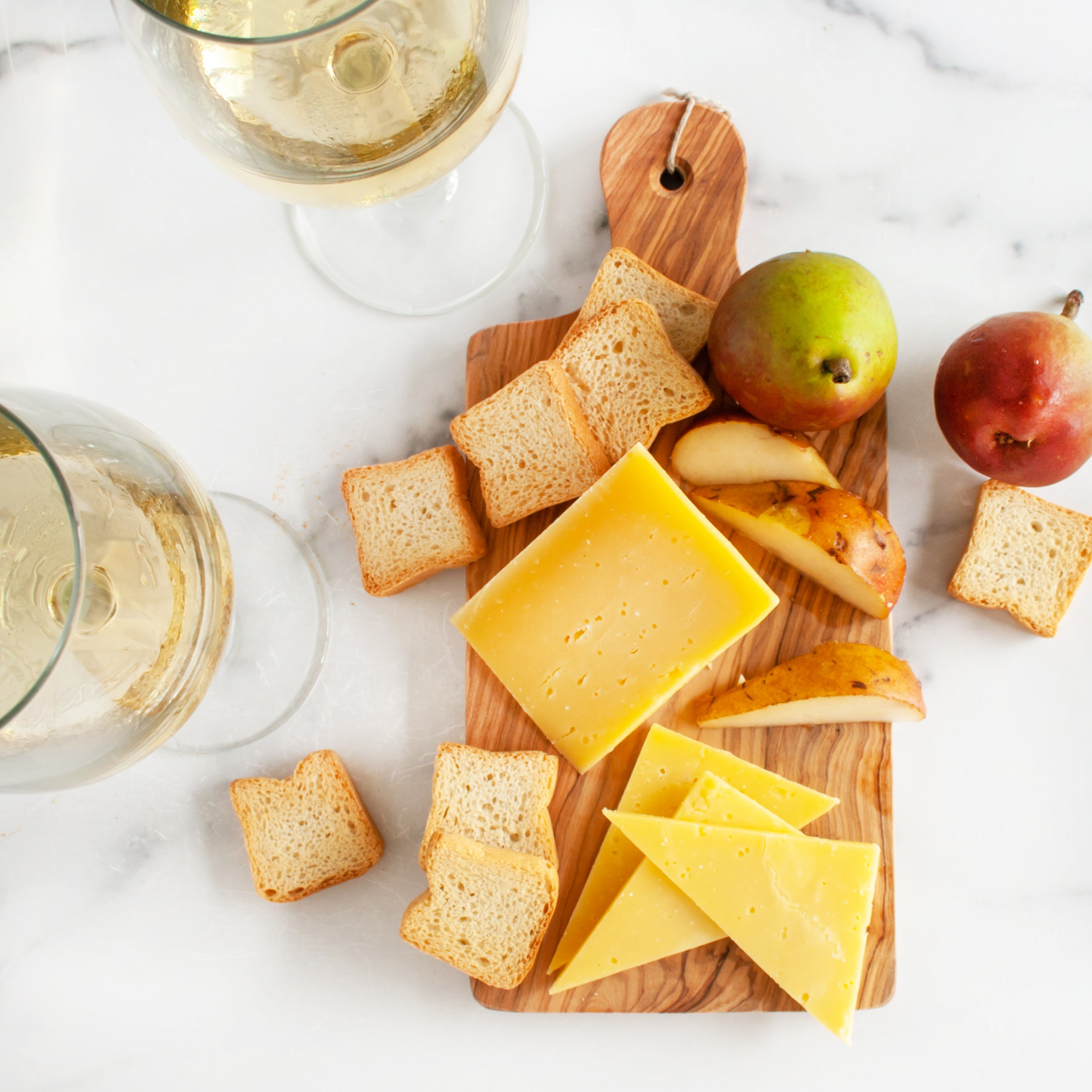 Chardonnay Cheese Assortment Gift Box