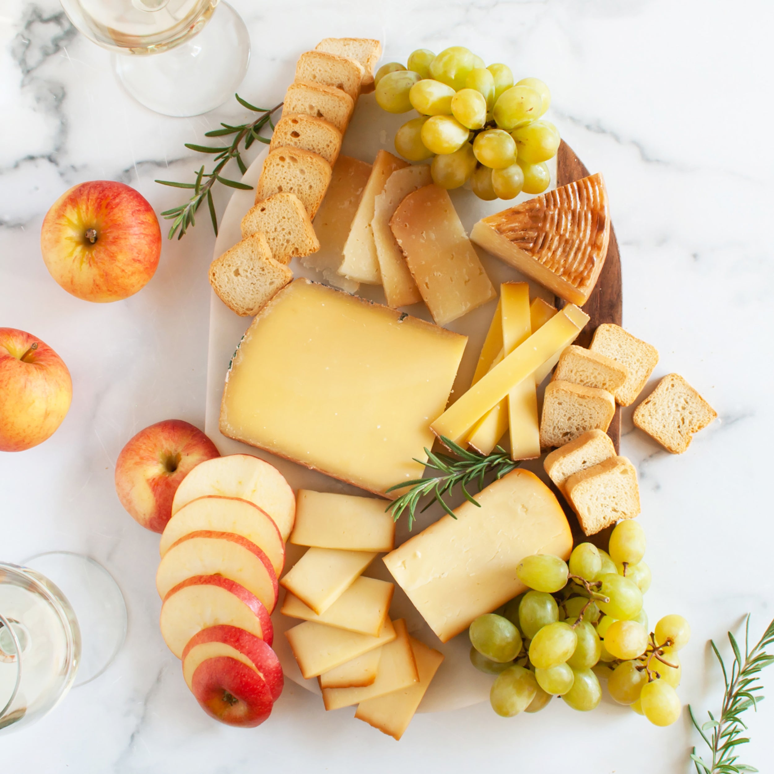 Riesling Cheese Pairing Assortment