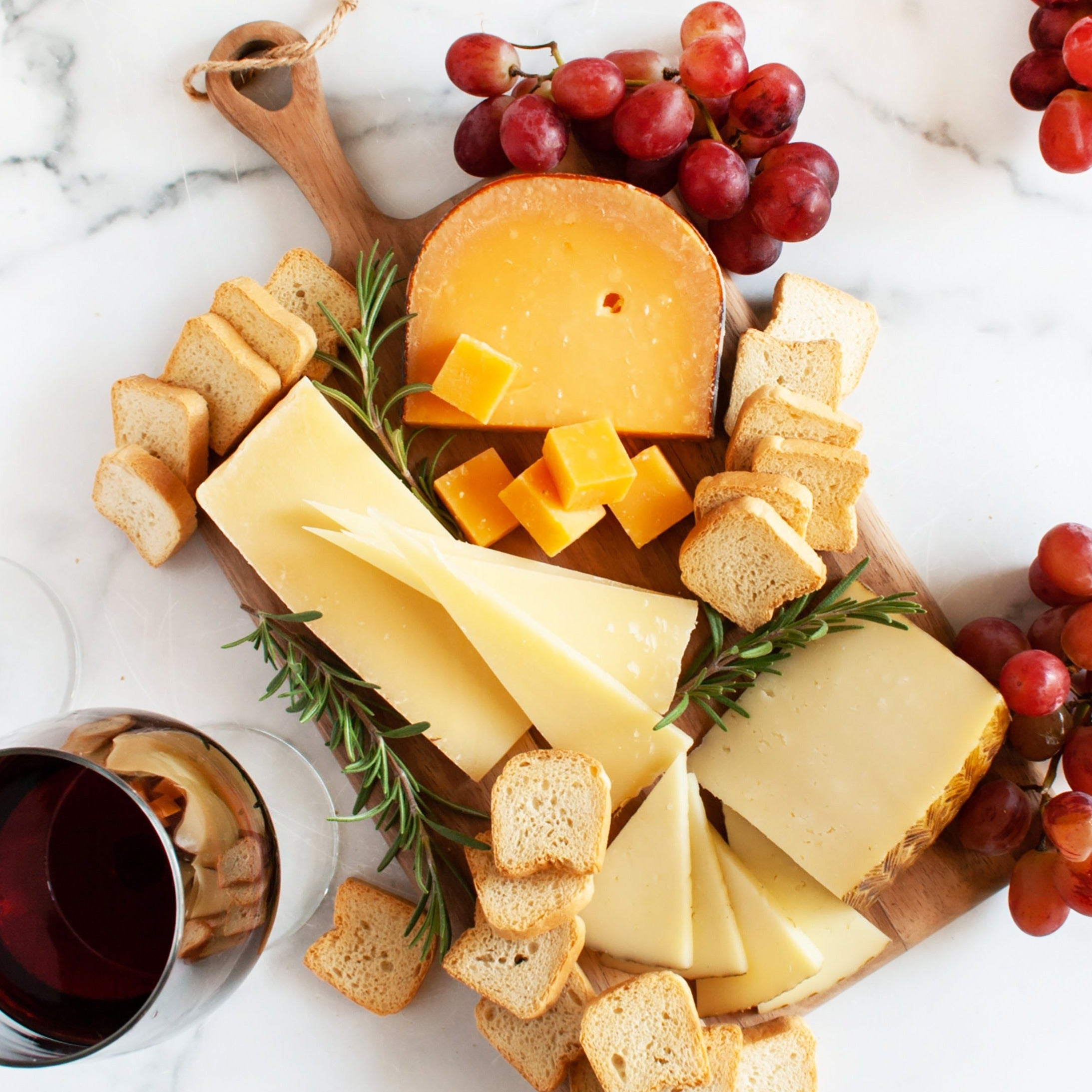 Merlot Cheese Assortment Gift Box