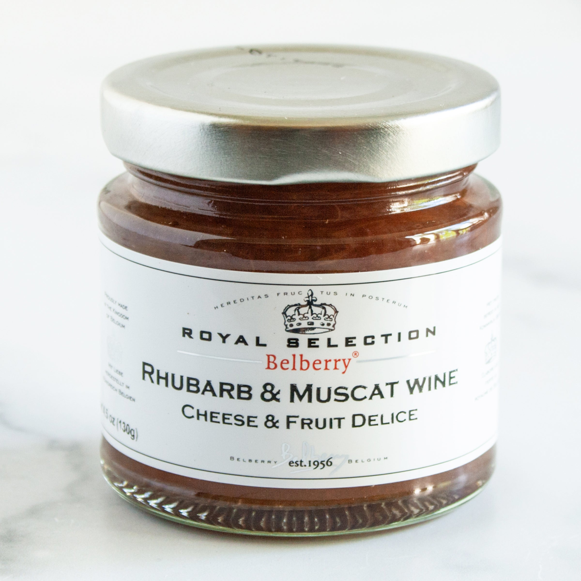 Rhubarb and Muscat Wine Compote_Belberry_Jams, Jellies & Marmalades