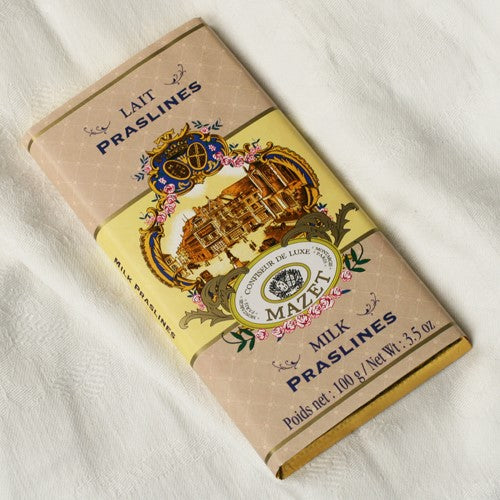 Milk Praslines Chocolate Bar