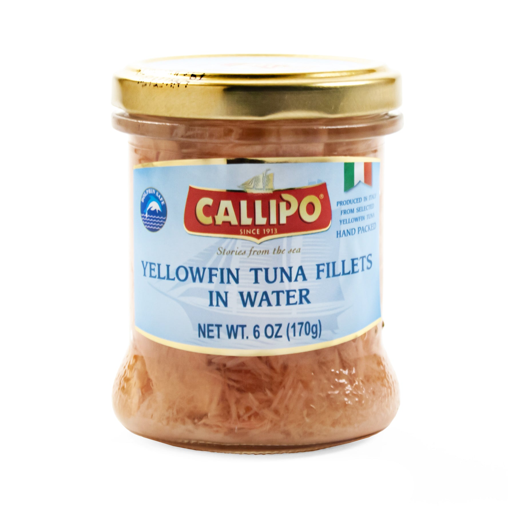 Italian Yellowfin Tuna in Spring Water