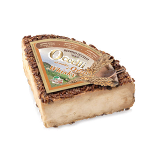 Occelli Cheese with Barley Malt & Whiskey