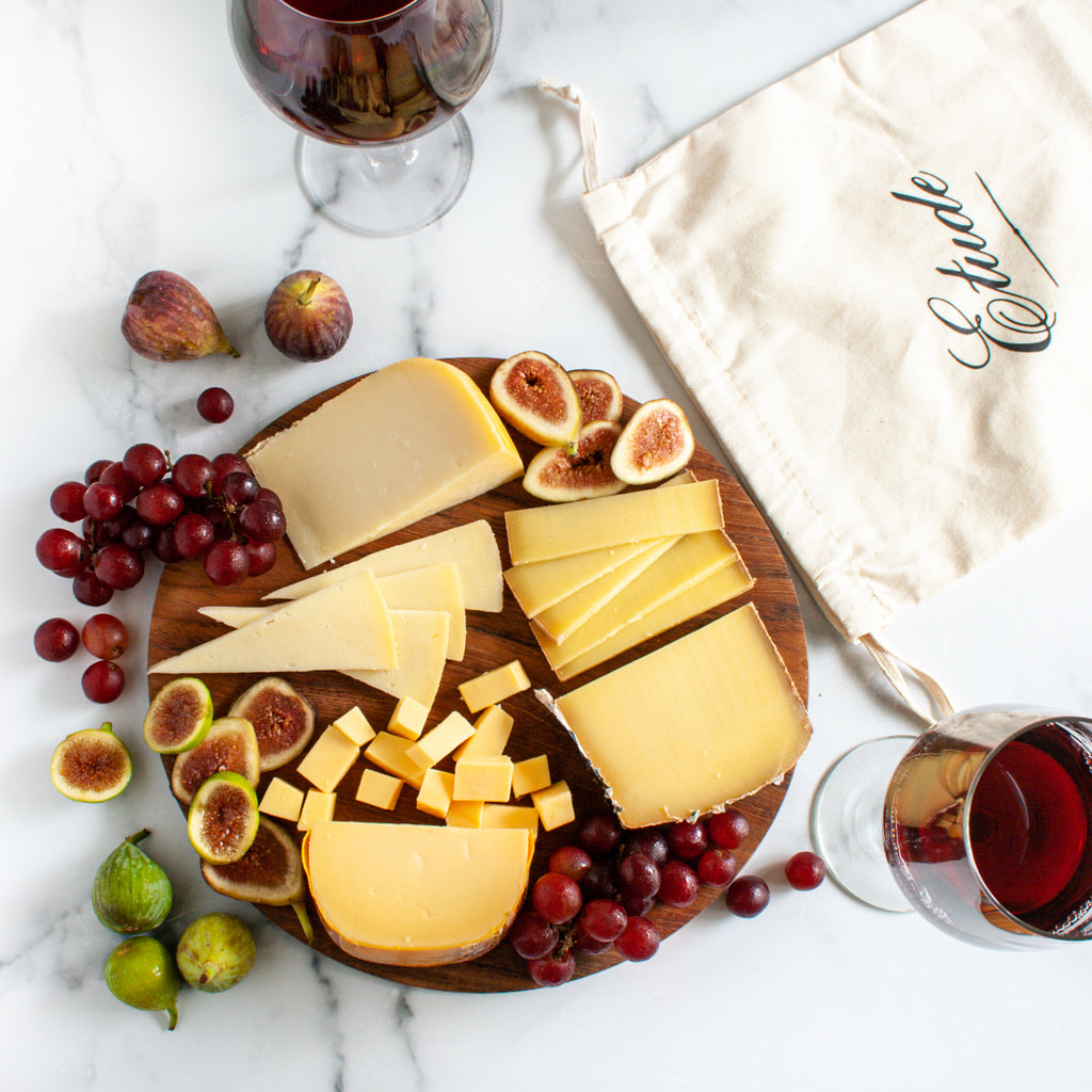 Etude Winery Cheese Pairing Collection