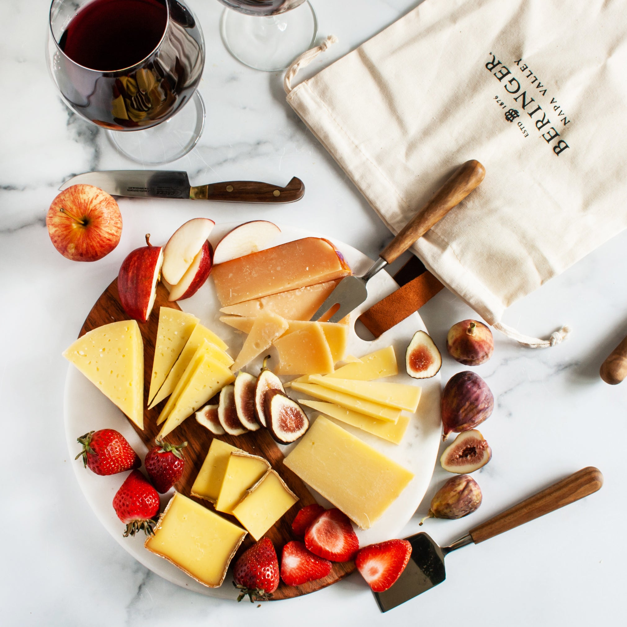 Beringer Vineyards Napa Valley Cheese Assortment - igourmet