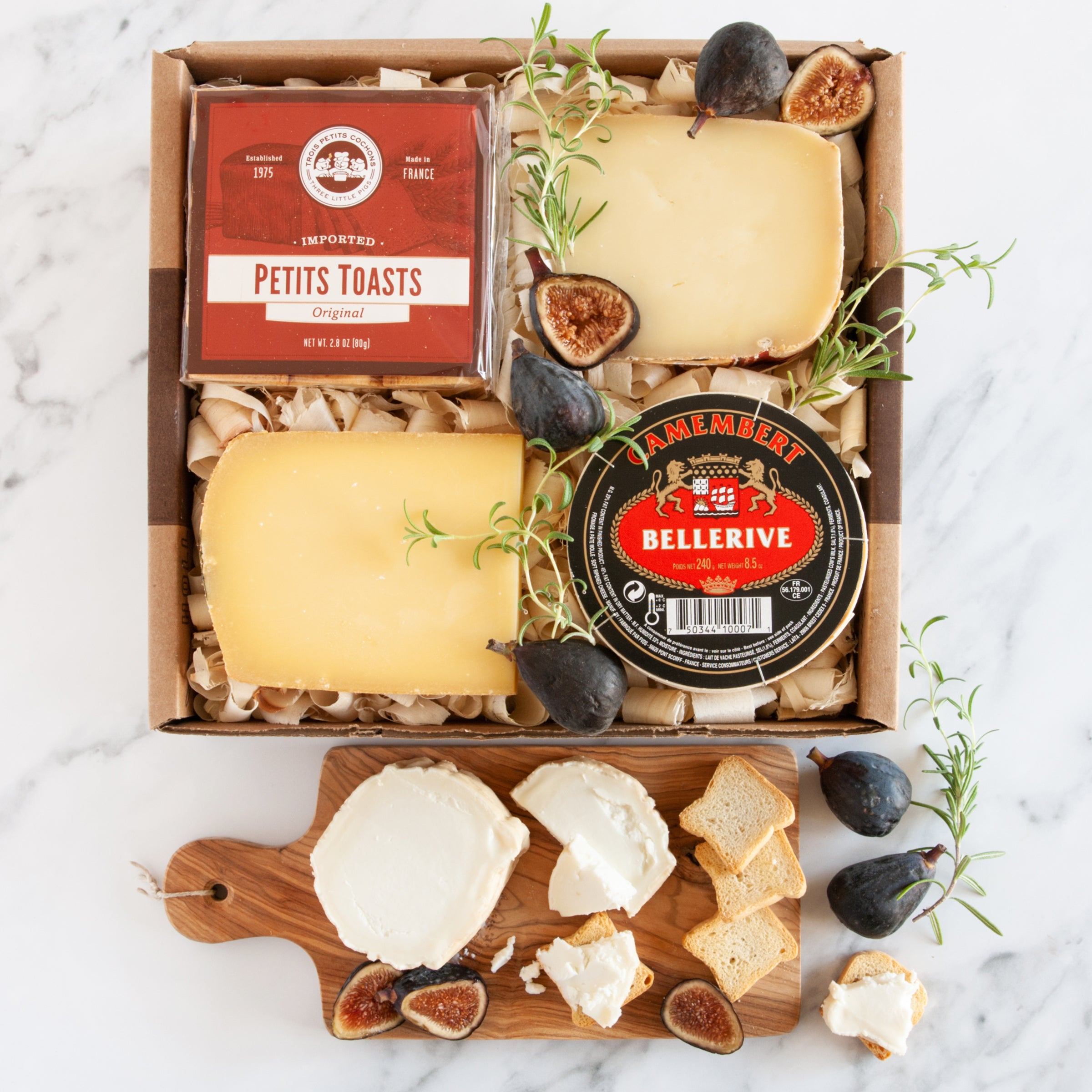 French Cheese Tasting Gift Box