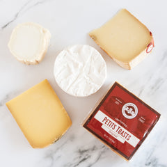 French Cheese Tasting Gift Box_igourmet_Cheese Gifts_Gift Basket/Boxes/Crates & Kits