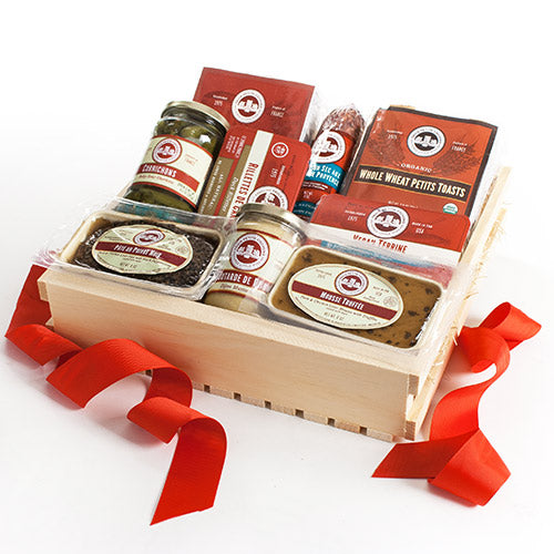 French Picnic Gift Crate
