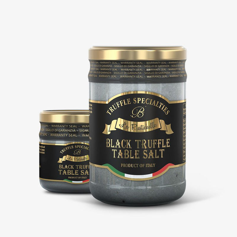 Black Truffle Table Salt ~ 3.9oz