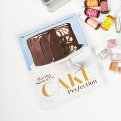 Martha Stewart Cake Perfection Cookbook and Decorating Set
