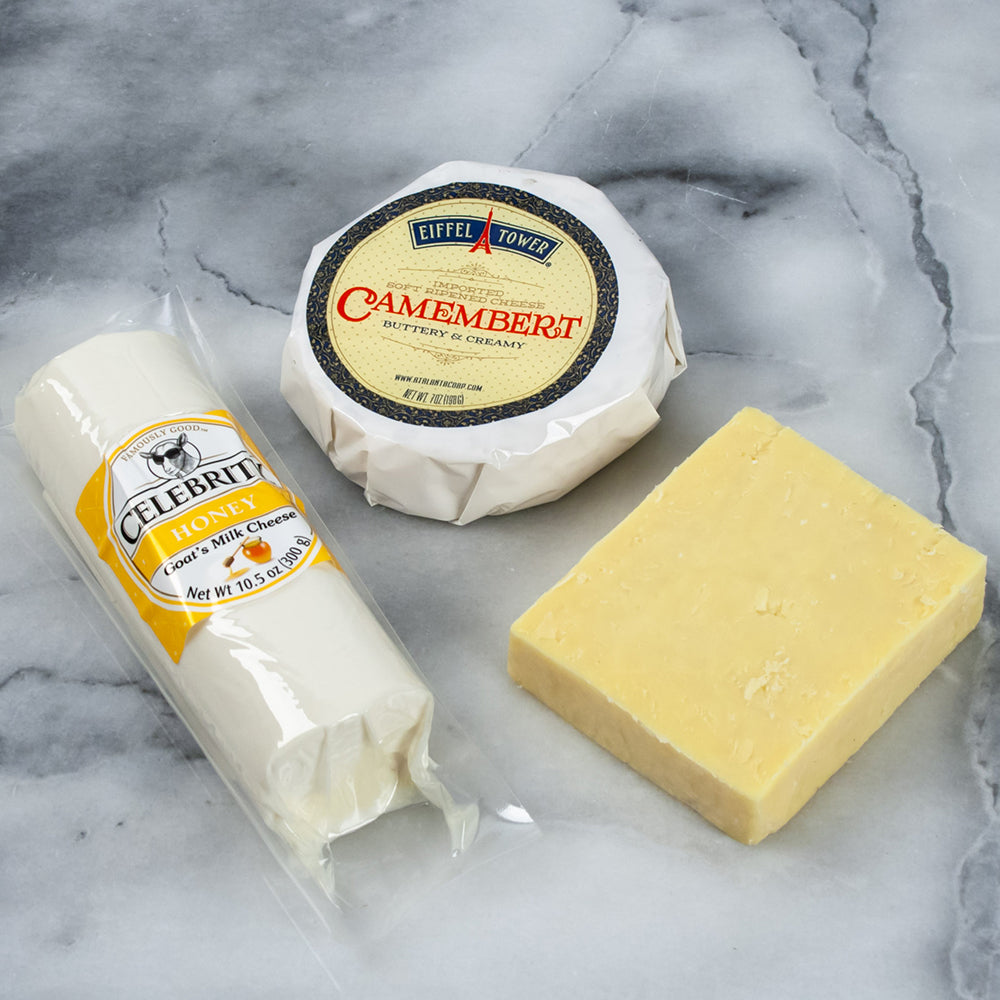 Trio of Canadian Cheeses