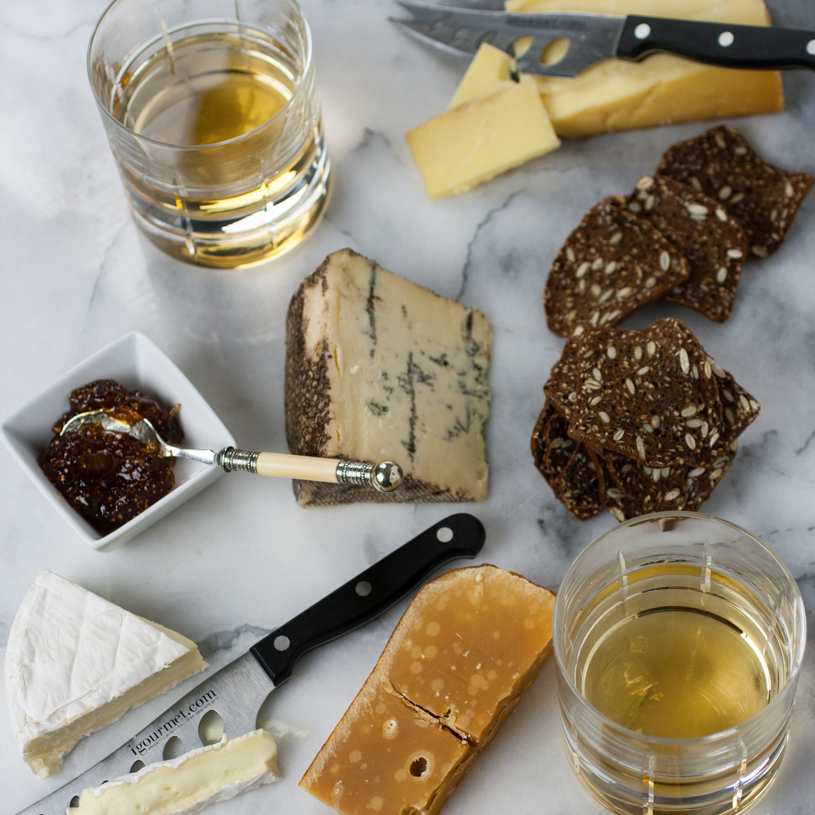 Whiskey Cheese Assortment
