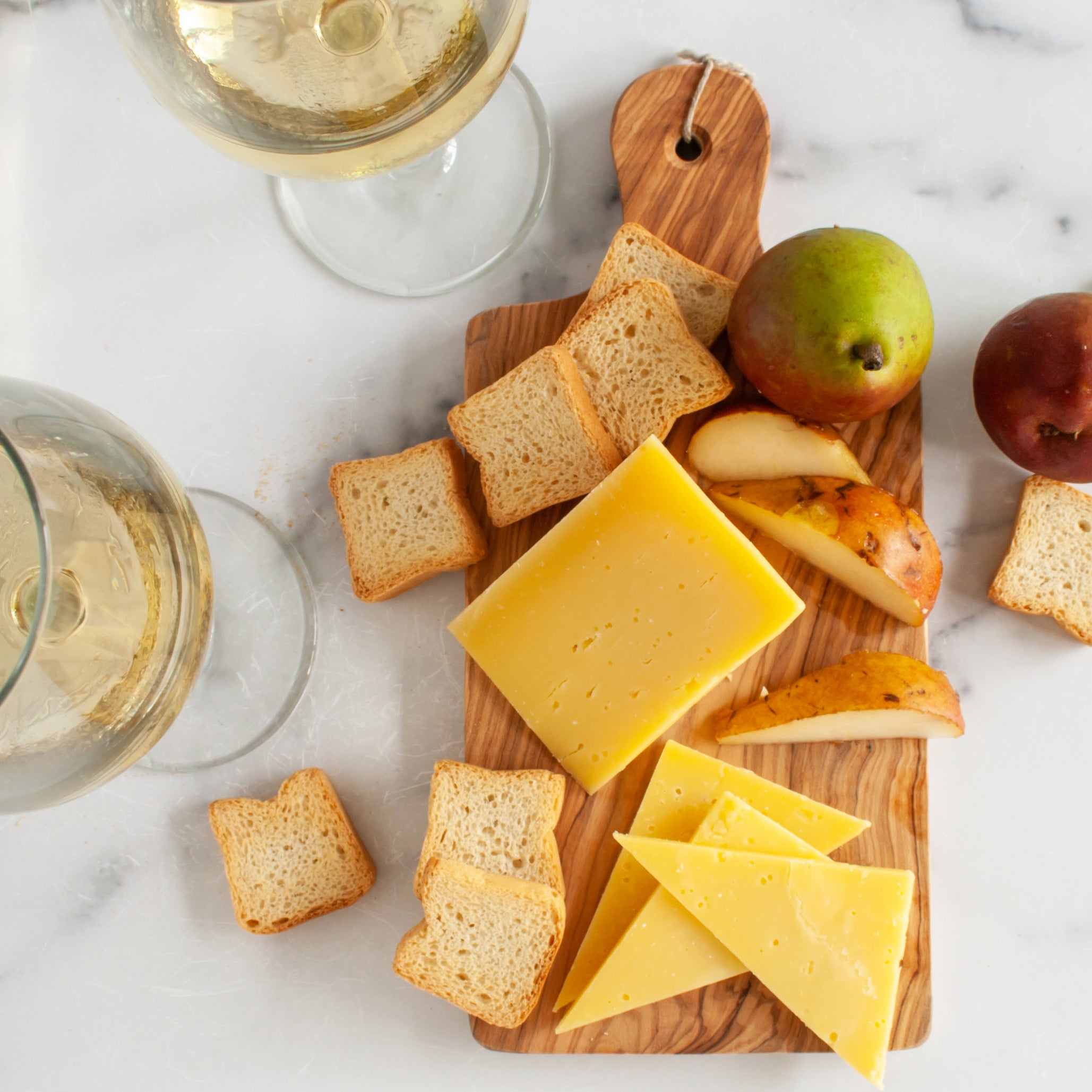 Chardonnay Cheese Assortment