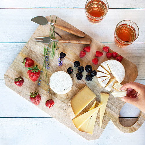Rose Pairing with Artisanal US Cheeses