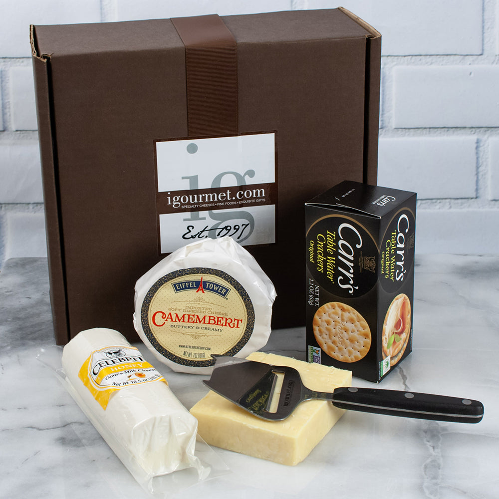 Trio of Canadian Cheeses Gift Box