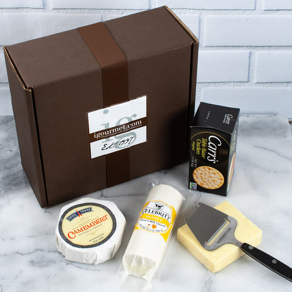Trio of Canadian Cheeses Gift Box - igourmet