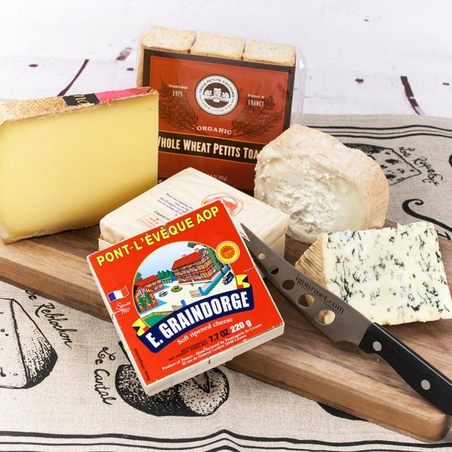 Connoisseur's French Cheeses Gift Box